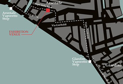 Venice Biennale Map